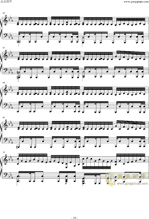 Assassins Creed钢琴谱 第10页