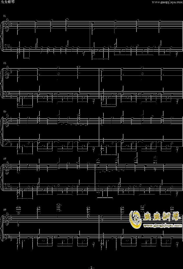 Assassins Creed钢琴谱 第2页