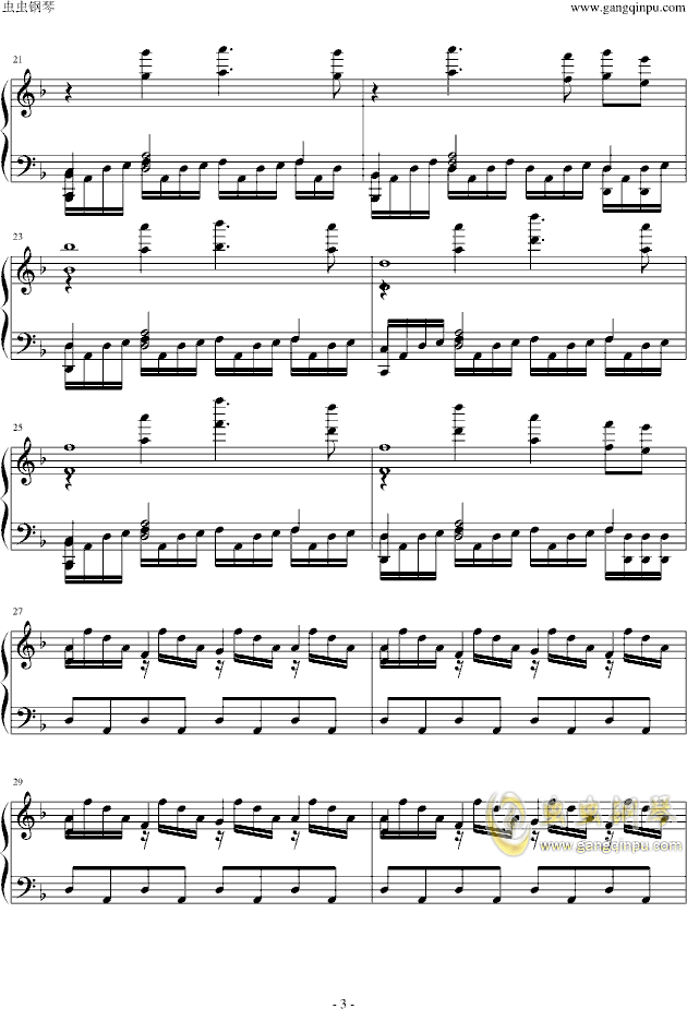 Assassins Creed钢琴谱 第3页