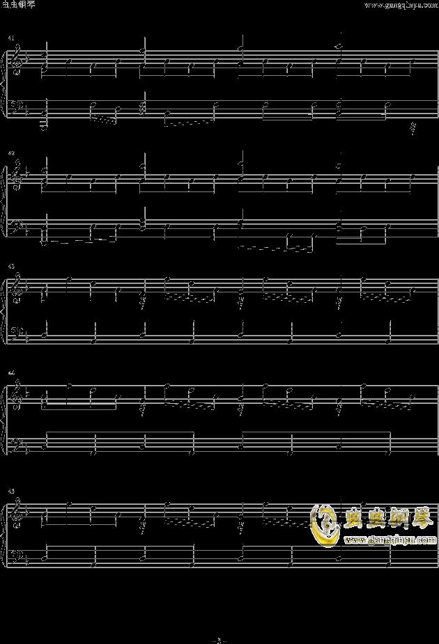 Assassins Creed钢琴谱 第5页