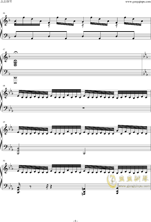 Assassins Creed钢琴谱 第6页