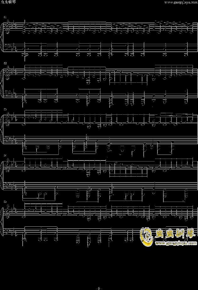 Assassins Creed钢琴谱 第9页
