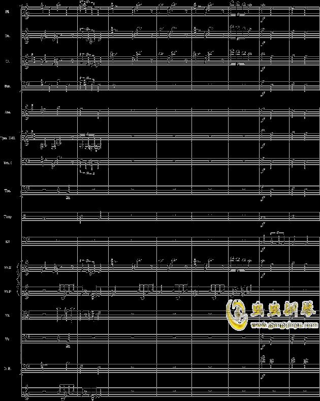 华丽乐章No.1钢琴谱 第10页