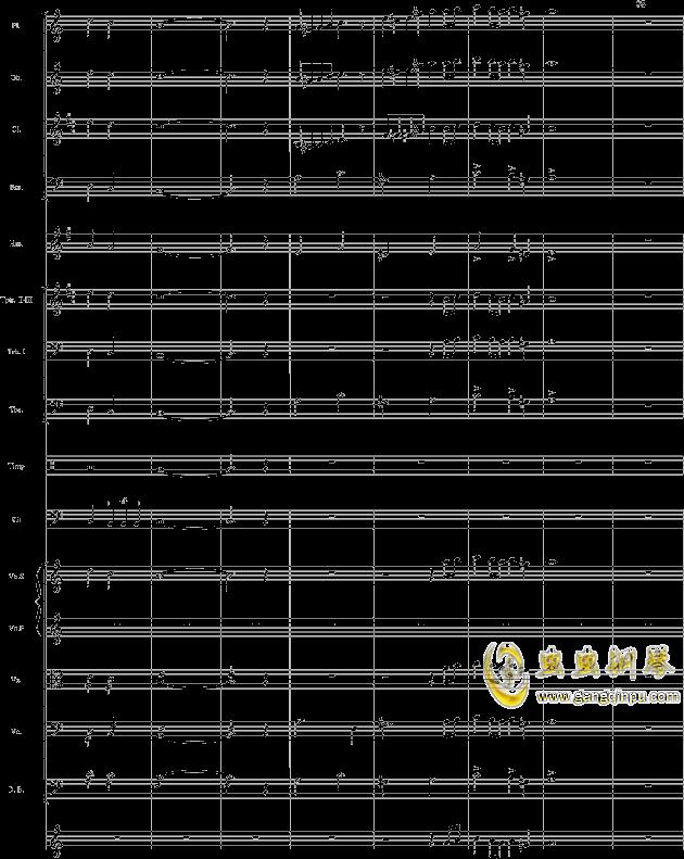 华丽乐章No.1钢琴谱 第11页
