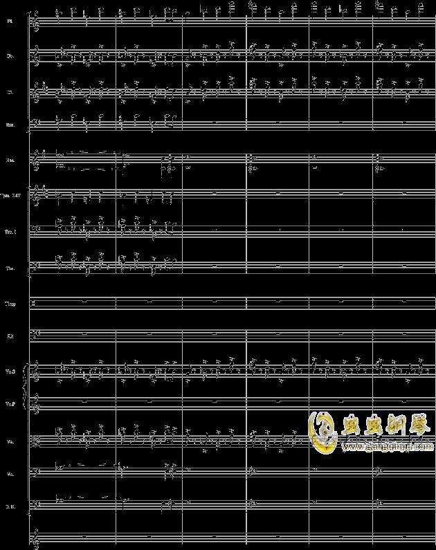 华丽乐章No.1钢琴谱 第16页