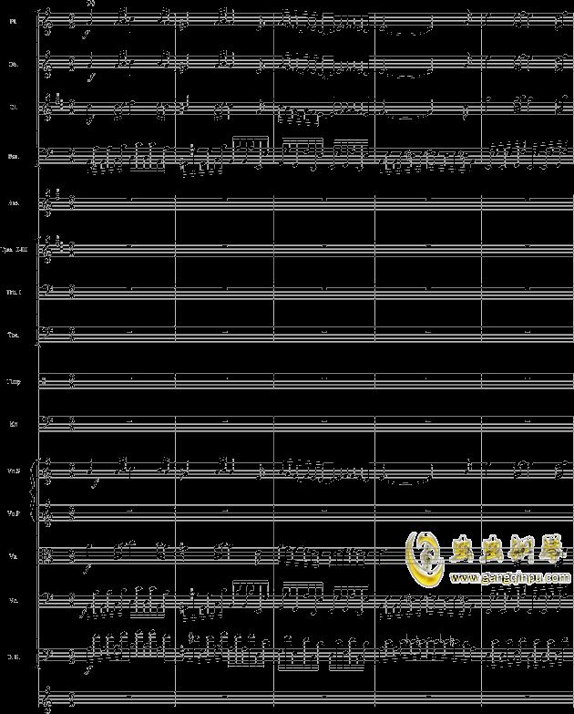 华丽乐章No.1钢琴谱 第20页