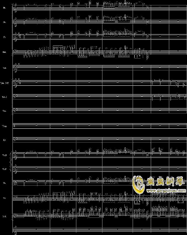 华丽乐章No.1钢琴谱 第22页