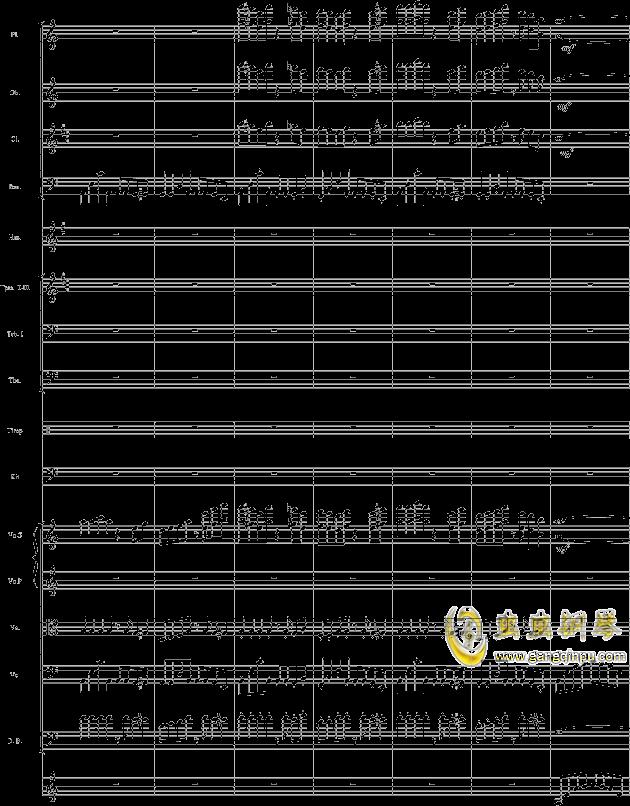 华丽乐章No.1钢琴谱 第28页
