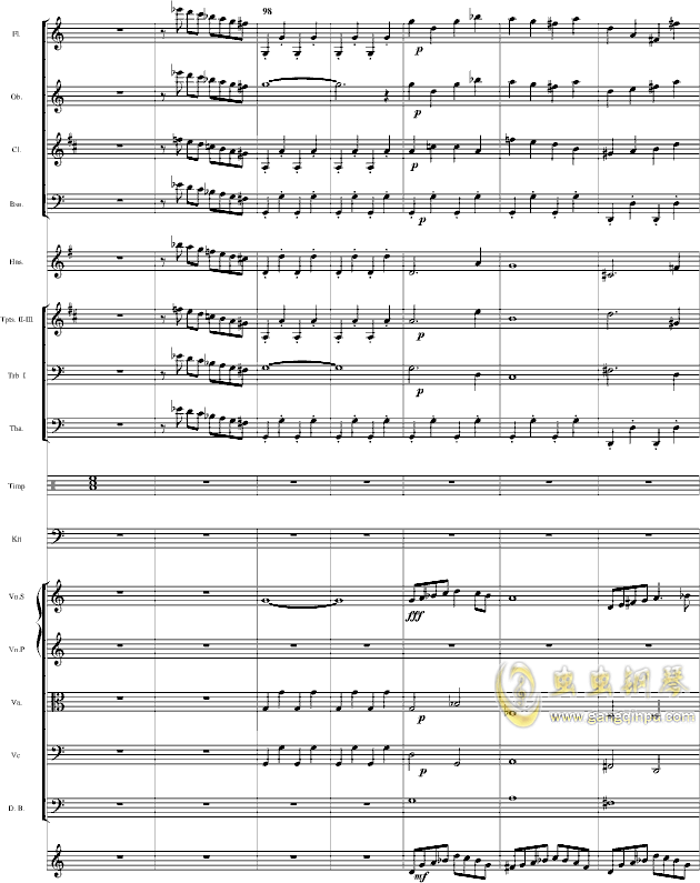华丽乐章No.1钢琴谱 第3页
