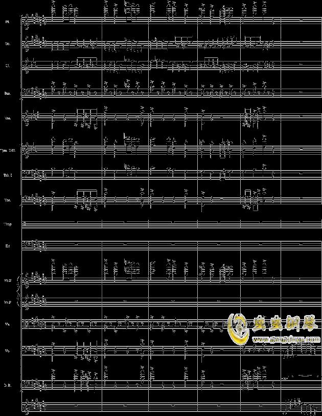 华丽乐章No.1钢琴谱 第36页
