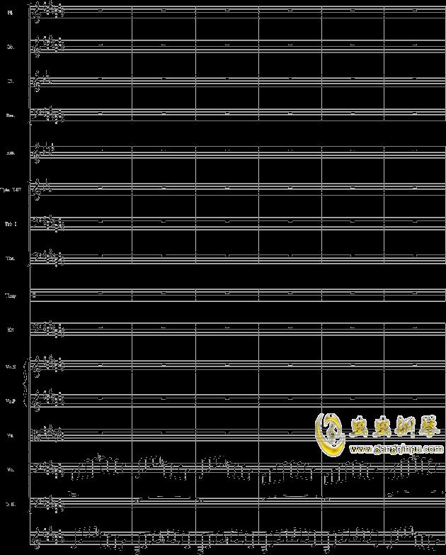 华丽乐章No.1钢琴谱 第37页