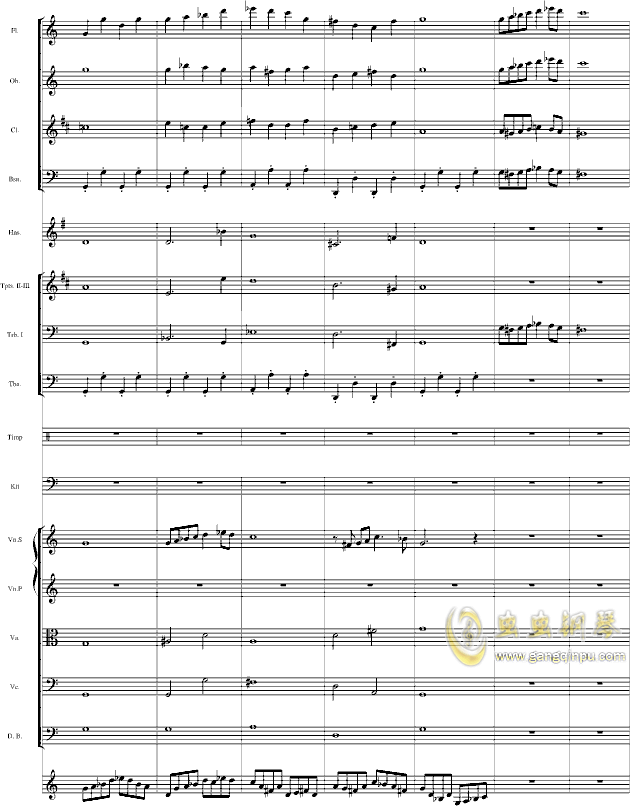 华丽乐章No.1钢琴谱 第4页
