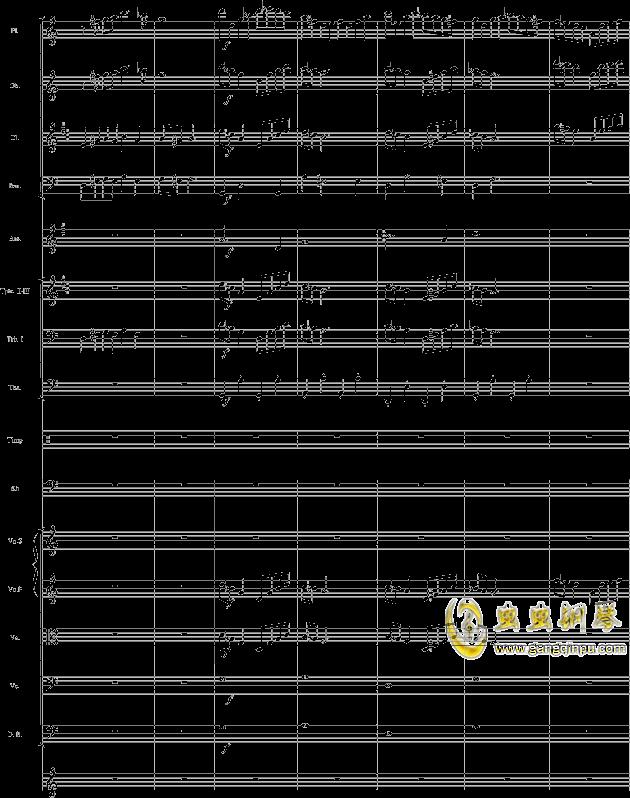 华丽乐章No.1钢琴谱 第5页