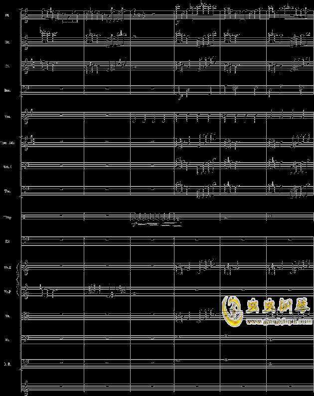 华丽乐章No.1钢琴谱 第6页