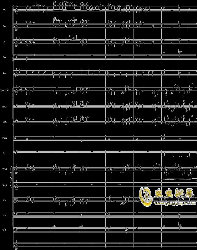 华丽乐章No.1钢琴谱 第7页