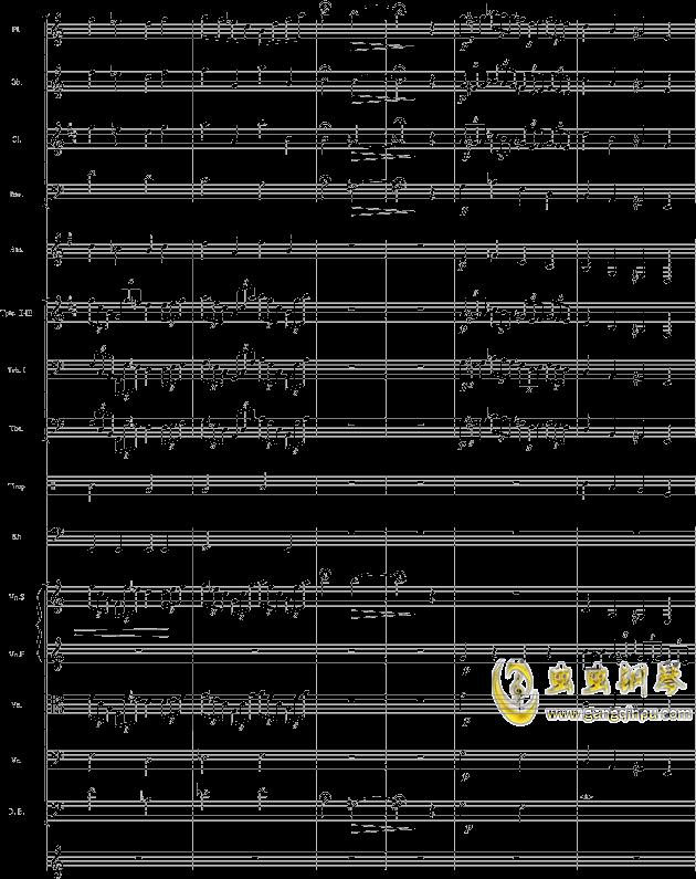 华丽乐章No.1钢琴谱 第8页
