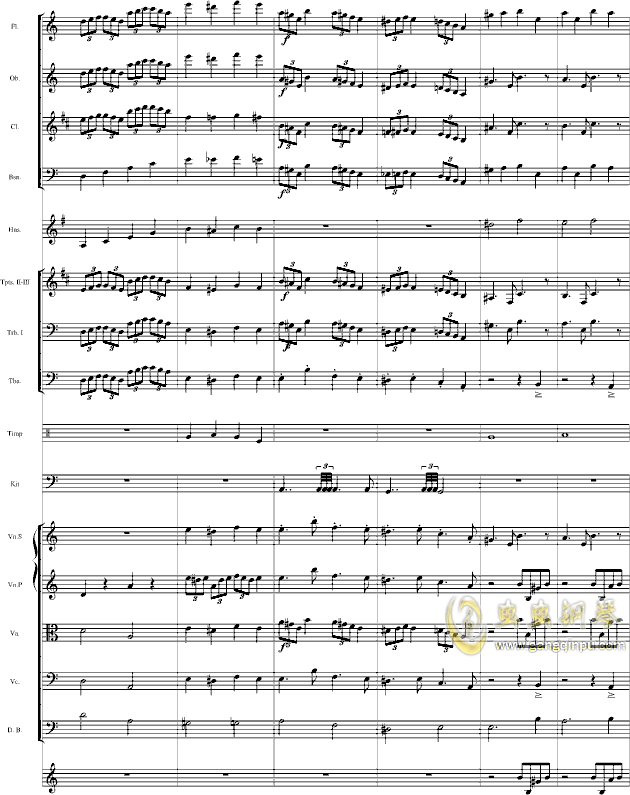 华丽乐章No.1钢琴谱 第9页