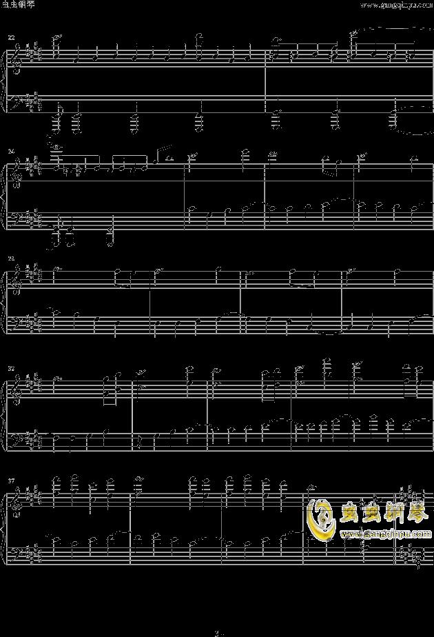 Endless Fate钢琴谱 第3页