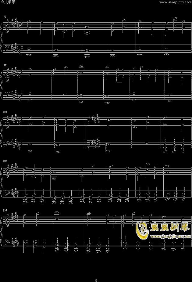 Endless Fate钢琴谱 第6页