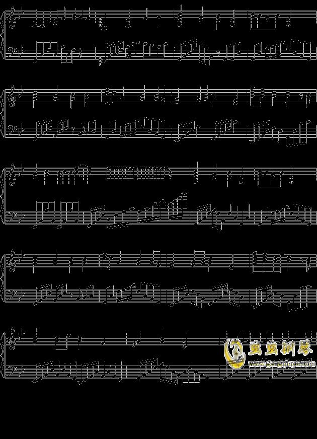 小苹果的忧伤钢琴谱 第2页
