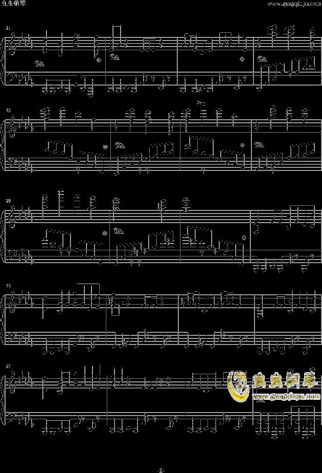 西游记序曲钢琴谱 第2页