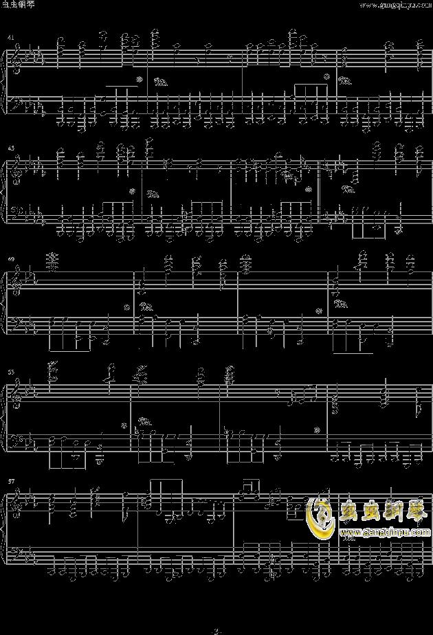 西游记序曲钢琴谱 第3页