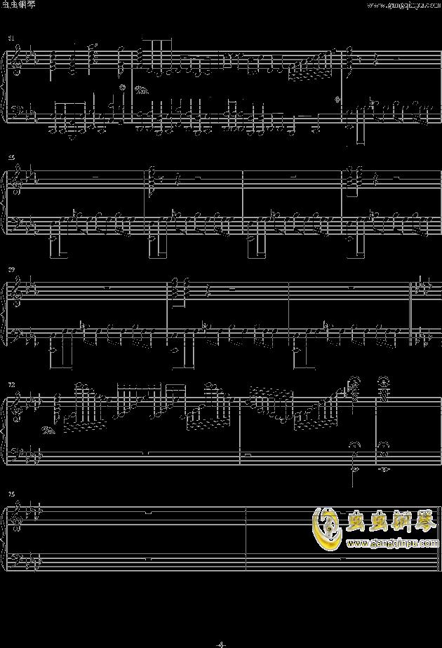 西游记序曲钢琴谱 第4页