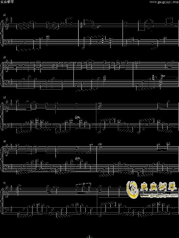 离歌钢琴谱 第2页