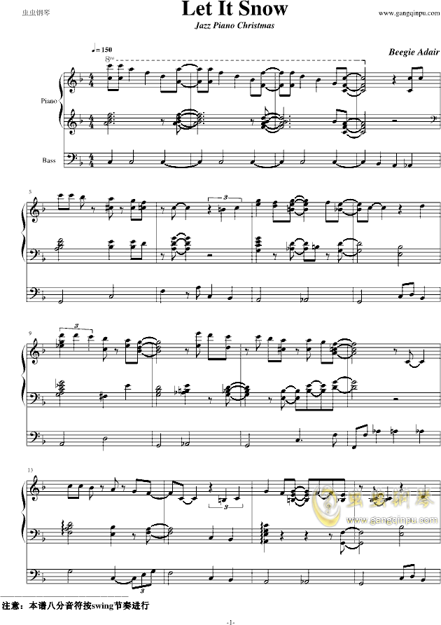 Beegie Adair Sheet Music Erkalnathandedecker