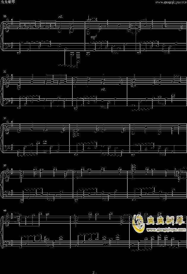 人生リセットボタン钢琴谱 第3页