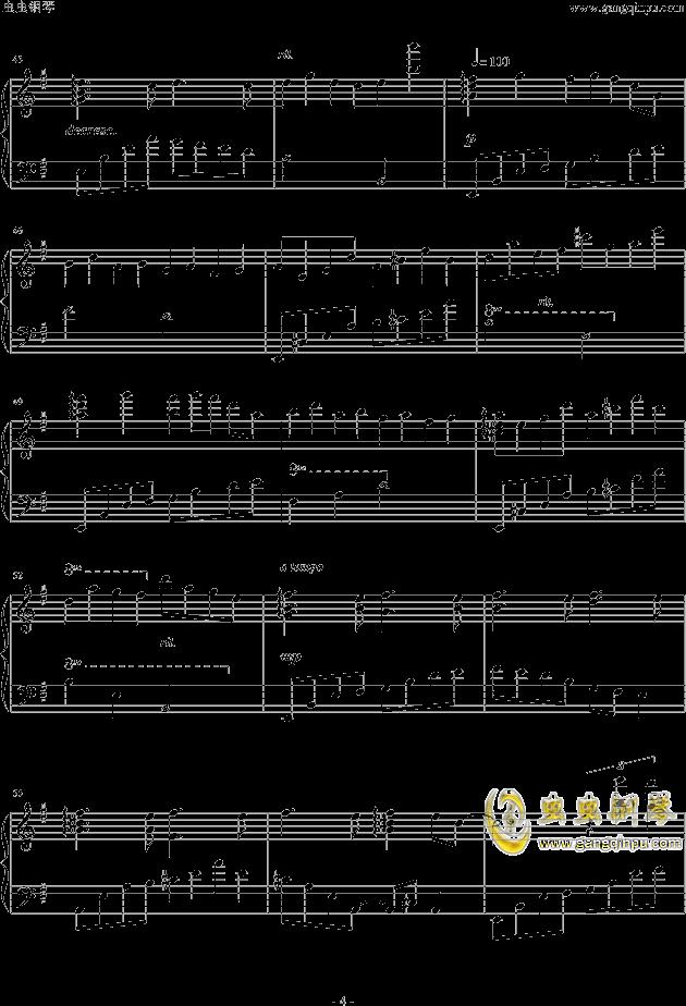 人生リセットボタン钢琴谱 第4页