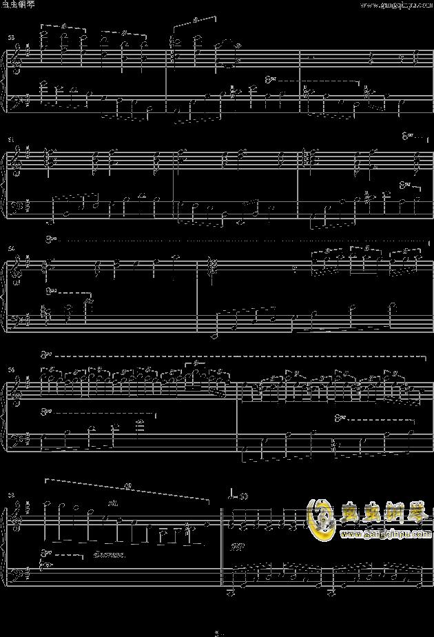 人生リセットボタン钢琴谱 第5页