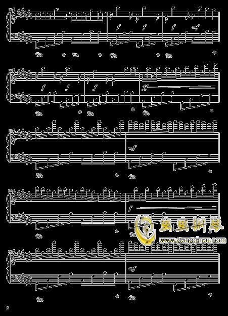 四叶草的幻想钢琴谱 第2页