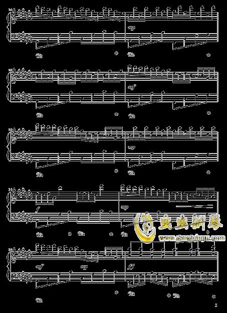 四叶草的幻想钢琴谱 第3页