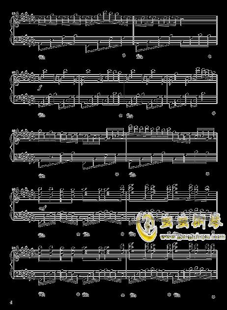 四叶草的幻想钢琴谱 第6页