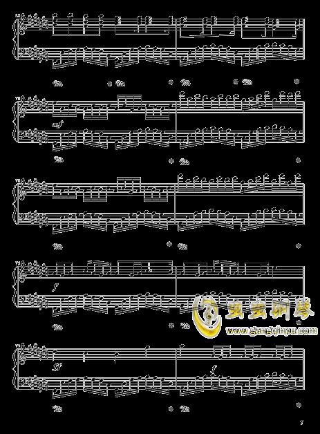 四叶草的幻想钢琴谱 第7页