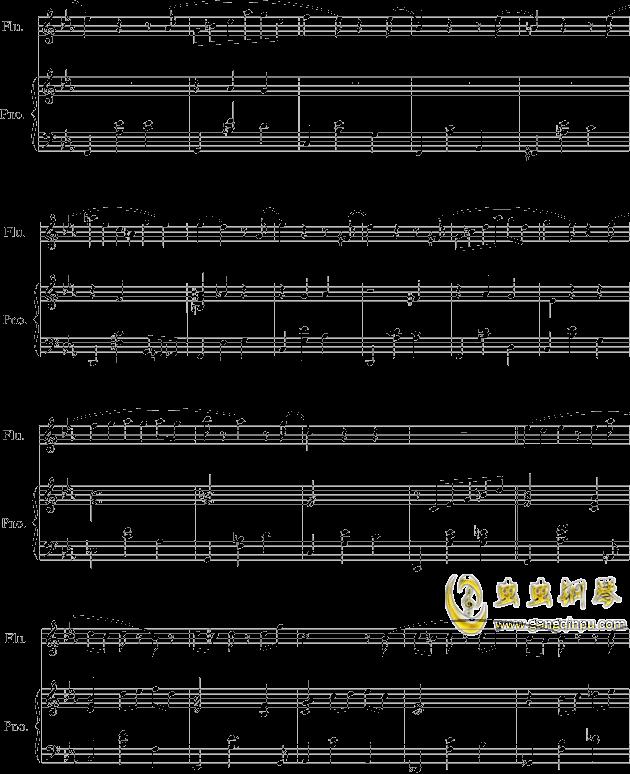 落在墙角的旋律钢琴谱 第2页