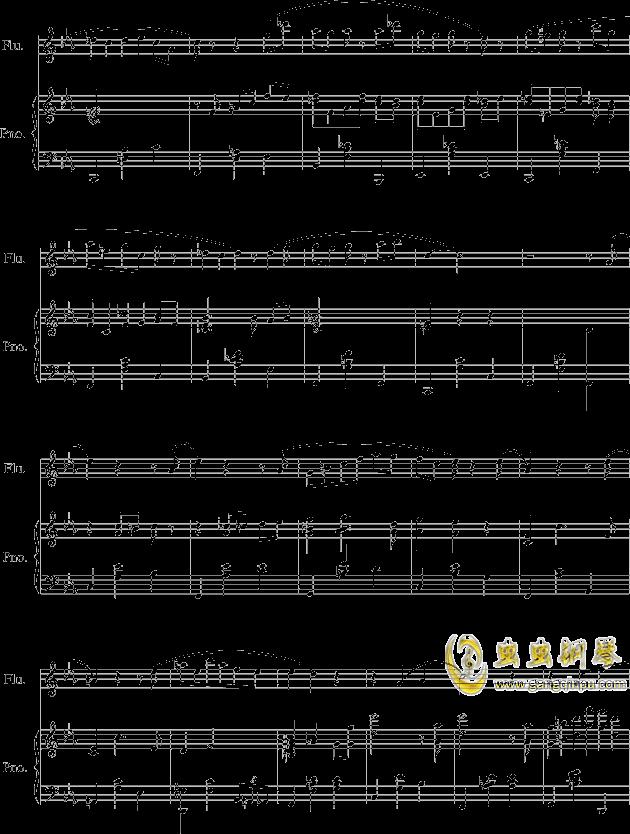 落在墙角的旋律钢琴谱 第3页