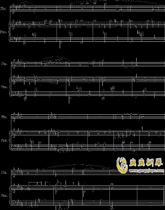 落在墙角的旋律钢琴谱 第6页