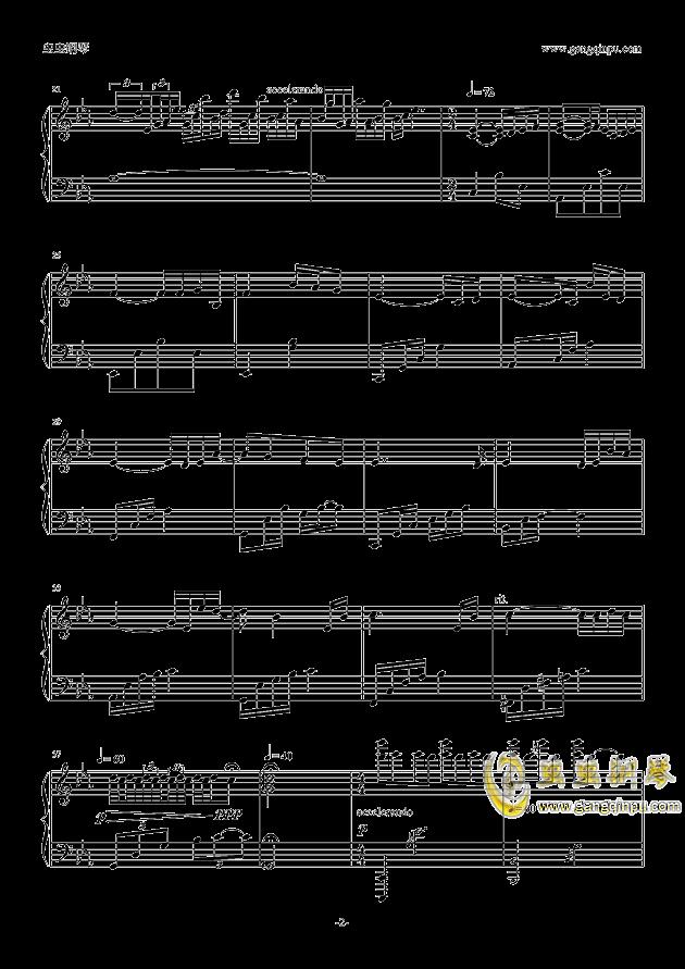 Guilty Crown钢琴谱 第2页