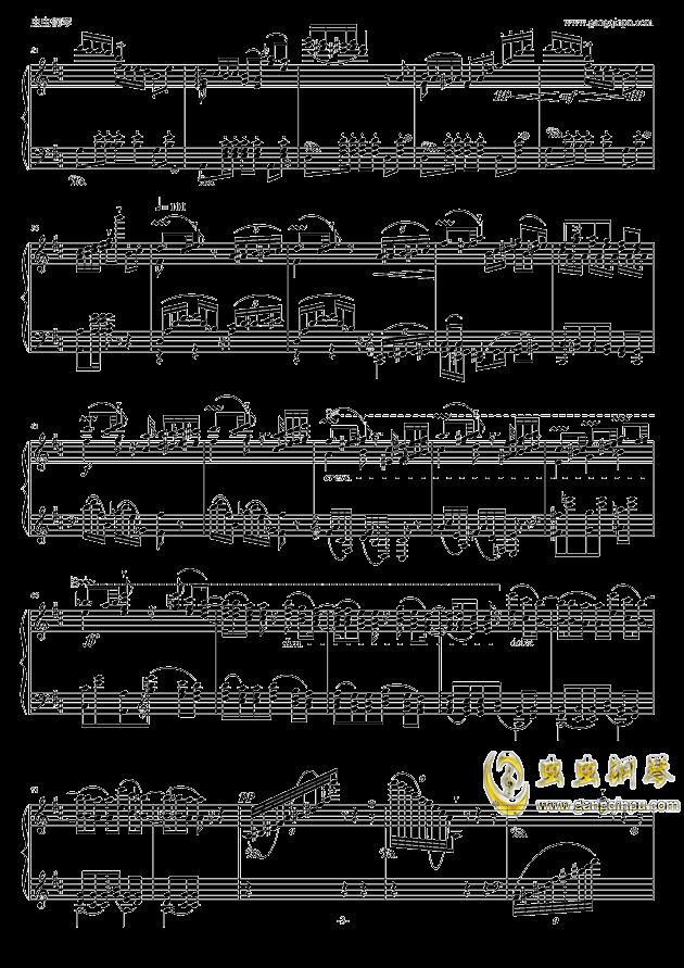 波兰舞曲钢琴谱 第3页