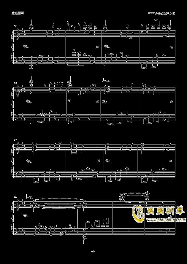 Guilty Crown钢琴谱 第4页