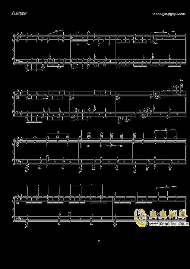 porunacabeza钢琴曲谱-por una 钢琴谱