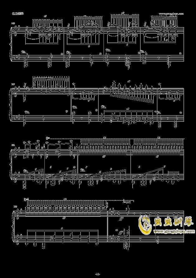 威廉・退尔序曲钢琴谱 第11页