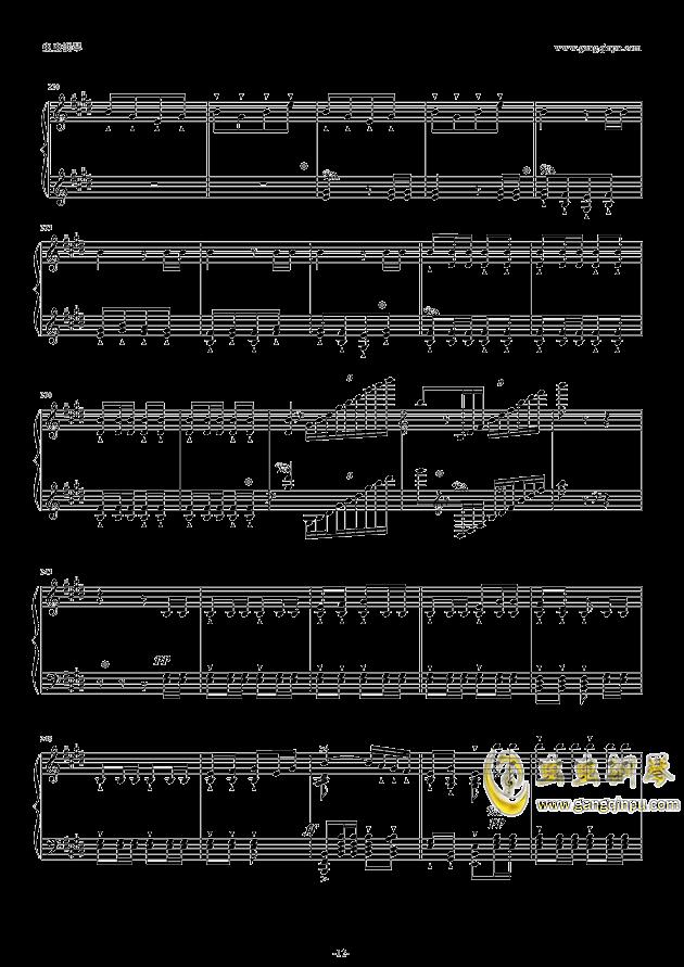 威廉・退尔序曲钢琴谱 第12页