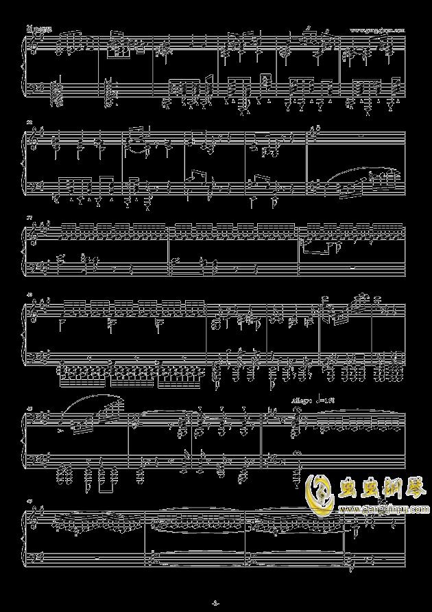 威廉・退尔序曲钢琴谱 第2页