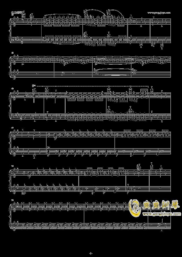 威廉・退尔序曲钢琴谱 第3页