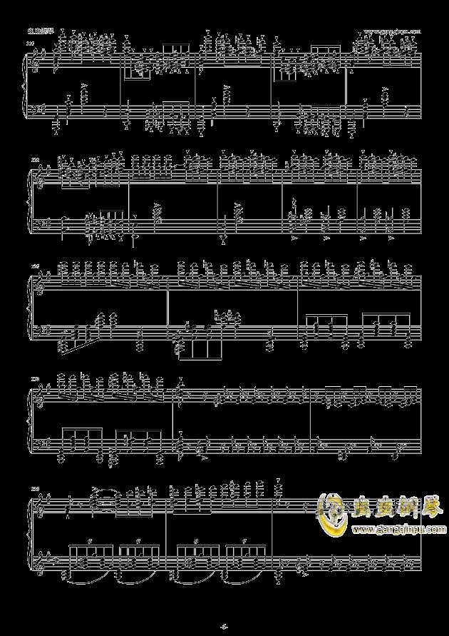 威廉・退尔序曲钢琴谱 第6页