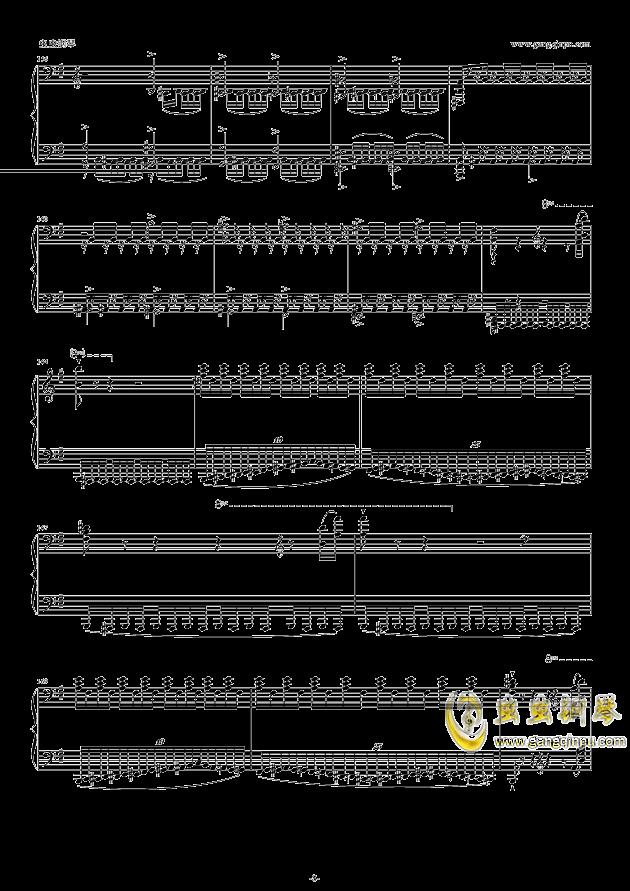 威廉・退尔序曲钢琴谱 第8页