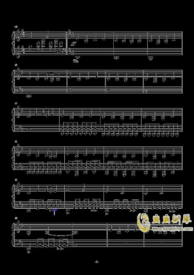 新手流行钢琴曲谱